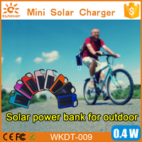 1450mah mini portable hung solar charger for cell phone digital camera MP3 MP4 charge power