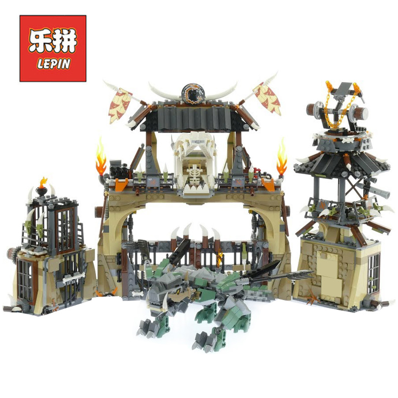 2018 New Lepin 06082 1859Pcs Ninja Set Dragon Pit Figures Kai Compatible 70655 Building Blocks Bricks Educational Model Toy Gift refurbished print head for epson photo 1400 1390 pm850 print head