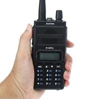 New Baofeng BF A55 Plus Walkie Talkie Dual Band VHF/UHF 136 174/400 520MHz 8W Transmit Power 128CH Hunting CB Ham Radio Scanner