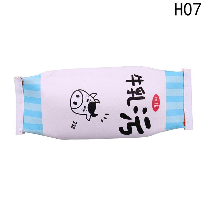 Coin Key Cases Kawaii Snack Kawaii Egg Cheese Gift Drop Shipping Make Up Bag Girls Women Pu Leather