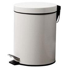 3л мусорное ведро для кухни гостиной офиса мусорное ведро для ванной комнаты ящик для хранения мусора ящик для хранения педали мусорное ведро