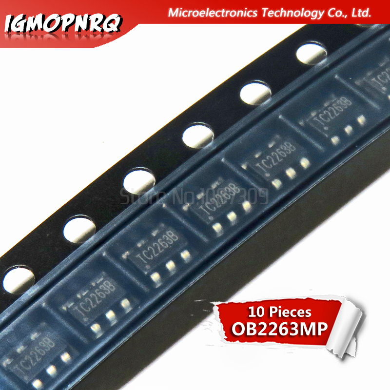 10pcs OB2263 <font><b>OB2263MP</b></font> SOT23-6 management p new original image