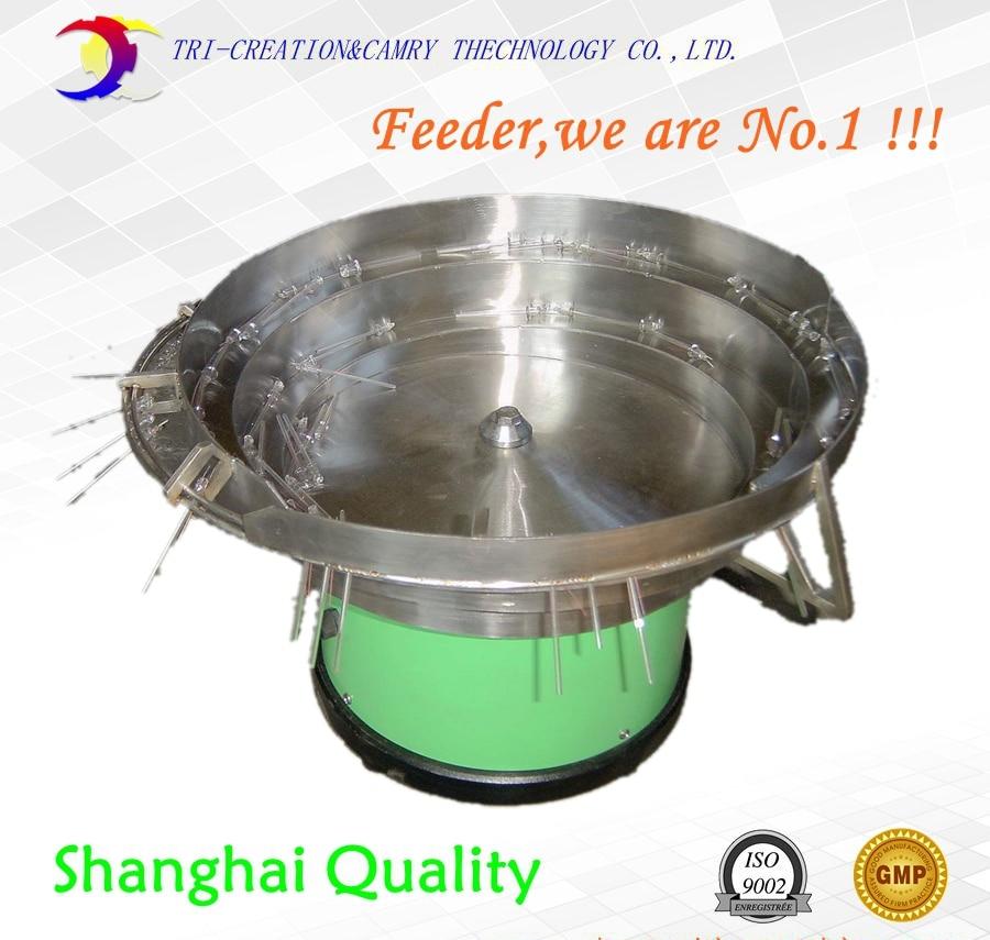 lampwick vibratory bowl feeder,304SUS automatic Lozenges vibration bowl unscrambler_800mm customizable panasonic stick feeder cm602 vibratory feeder 3 input channels for smt pick and place machine