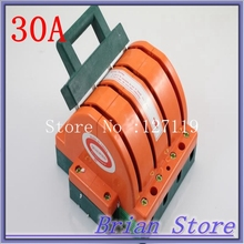 Heavy Duty 4Poles Double Throw 4PDT 30A Electronic Circuit Safety Knife Blade Disconnect Switches