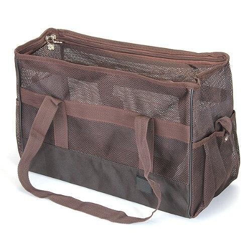f531748ab12 VSEN Hot Carrier zomer networked tas met zakken hond kat houder Bruin