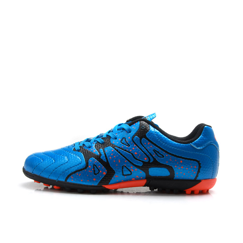 A75523 TIEBAO מקורה נעלי כדורגל גברים מקצועיים, דשא מירוץ ספורט כדורגל, נעלי כדורגל אימוני