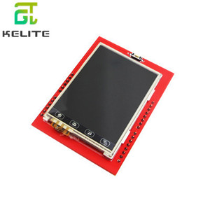 NEW 2.4 inch TFT LCD Touch Screen Shield for UNO R3 Mega2560 LCD Module 18-bit 262,000 Different Shades Display Board
