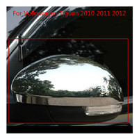 For Volkswagen Tiguan 2010 2011 2012 High quality ABS Chrome Rearview mirror cover Trim/Rearview mirror Decoration Car covers