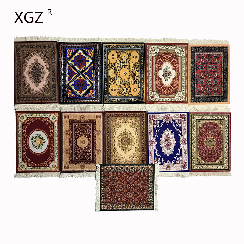 XGZ Best Selling Top Style Tassel Persian Carpet Gaming Mouse Pad Rubber Slip Easy To Carry Player Pc Game Mousepad  Desk Mat