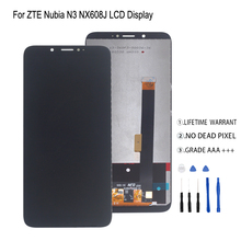 For ZTE Nubia N3 NX608J NX617J LCD Display Touch Screen Digitizer For ZTE Nubia N3 LCD Screen Display Repair Parts Free Tools lmg7401plbc 5 7 inch lcd screen display panel for hmi repair parts new