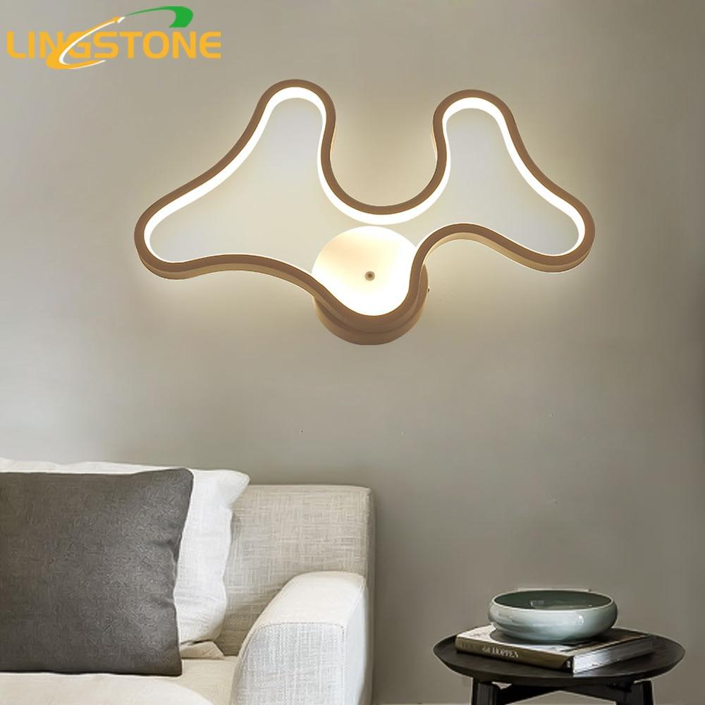 Led Wall Lamp Modern Wandlamp Antlers Sconce Mirror Light Bedroom Living Room Home Lighting Fixture Restaurant Bar Dining Room