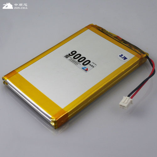 In the core 3.7V 9000mAh large capacity lithium polymer battery 9AH mobile field emergency power backup Rechargeable Li-ion Cell brown 3 7v lithium polymer battery 7565121 charging treasure mobile power charging core 8000 ma rechargeable li ion cell
