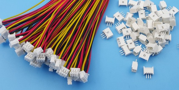 50 pcs 1.25mm Pitch 3 Pin Male + Female Connector with 28AWG 100mm Leads Cable