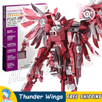 3D Metal Puzzle Super Heroes Thundering Wings Classic Metallic Gundam Robots Figures Model Assemble Kits Teenagers
