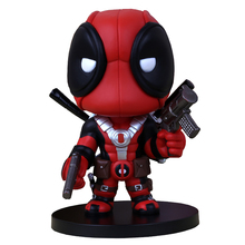 hot! 5.5″14cm Q Version  Anime Super hero X-men Deadpool PVC Doll Action Figure Toys Gift For Children Collectible Toy