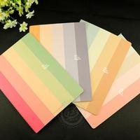 1pcs Lot 257 184mm Lovely Colors Series Design High Quality Notebook Journal Diary Notebook Office And