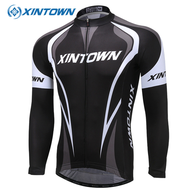 XINTOWN Cycling Jersey Winter Long Sleeve Bike Clothes Thermal Fleece Ropa Maillot Ciclismo Invierno Hombre MTB Bicycle Clothing цена