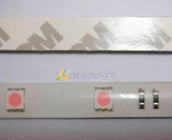 Pink LED Strip Light SMD 5050 60LED / M шамдары DC12V - LED Жарықтандыру - фото 4