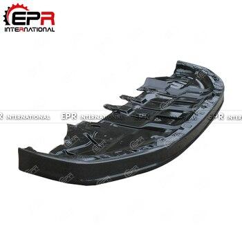 닛산 gtr r35 2012 용 oem 스타일 탄소 섬유 앞 립 아래 트레이 광택 마감 범퍼 스플리터 바디 키트 튜닝 부품