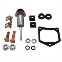 TAKPART Starter Solenoid Repair Rebuild Kit Contacts Parts Fit For Toyota Subaru 228000-6660  228000-6662  228000-6663