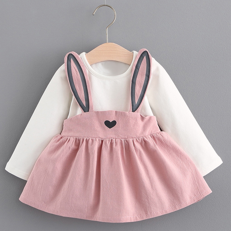 Mayfair Cabin 2019 New Spring Autumn Baby Girl Dress Princess Baby Clothes Long Sleeve Party Dress baby girl clothes kids dress in Dresses from Mother Kids