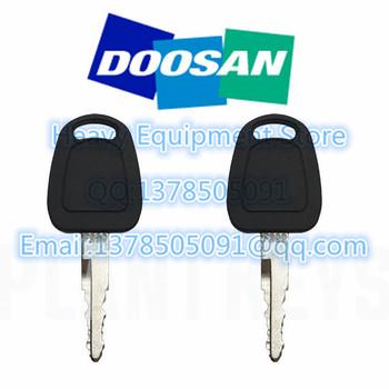 2 sztuk F900 Start zapłonu przełącznik blokady drzwi klucz do Doosan Daewoo Terex Bobcat E80 koparki ciężkiego sprzętu tanie i dobre opinie without