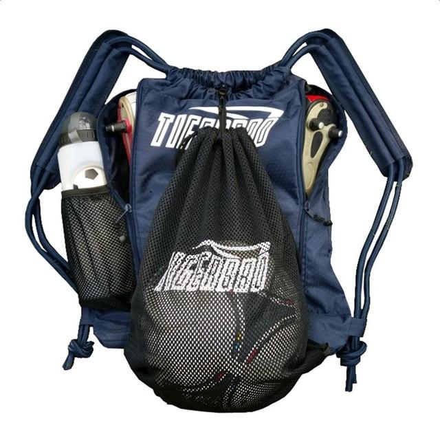 Outdoor Women Men Nylon Ultralight Backpack Football Basketball Bag String Drawstring Hiking Gym Mesh Storage Sport