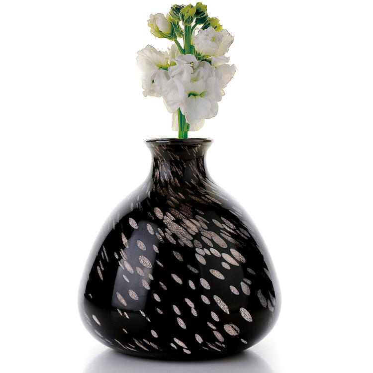 European Style Of The Ancient Stained Glass Storage Jar Flower