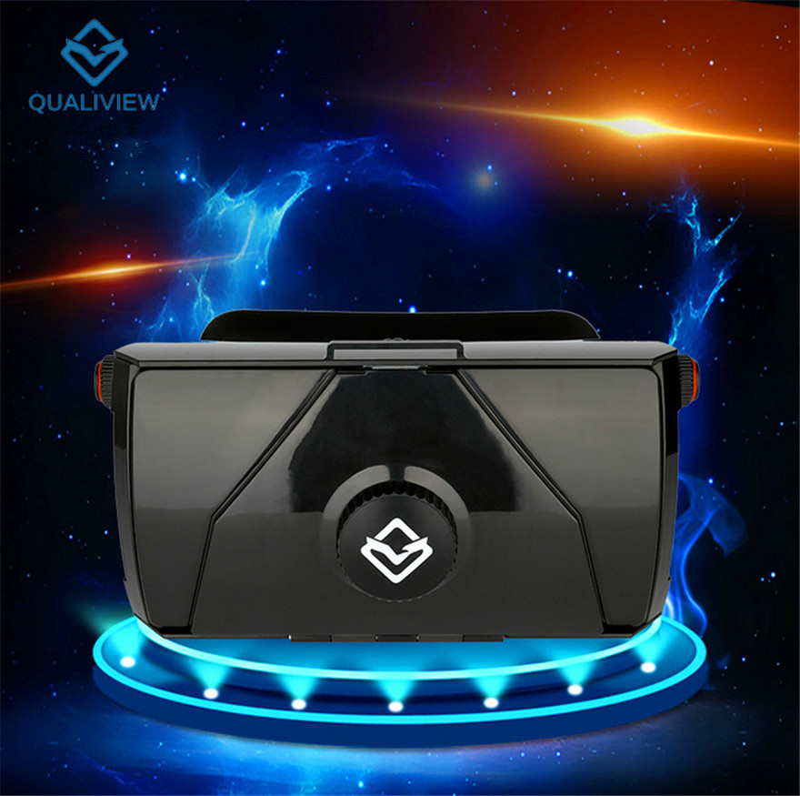 Original 3D BOX VR Glasses Helmet Google Cardboard Mobile Phone Virtual Reality Glasses  ...