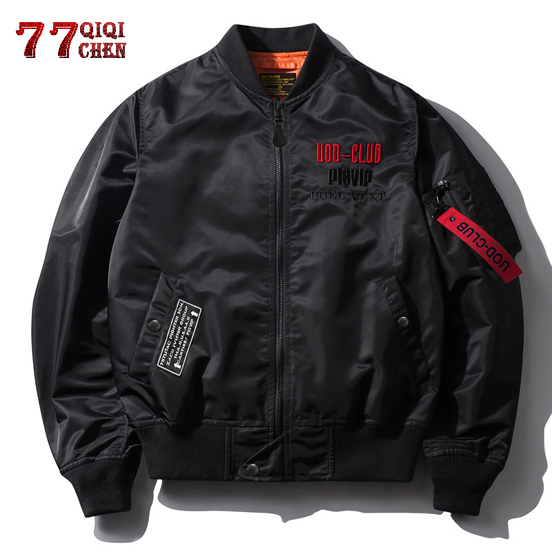 QIQICHEN Male Jackets Clothing Coat Spring Bomber Autumn Fashion New And Casual Loose