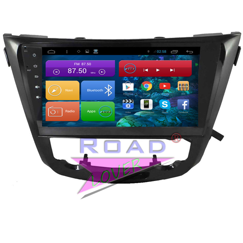 Roadlover Android 6,0 2 г + 16 ГБ 10,2 Car gps навигации для Nissan X Trail 2014 стерео 4 ядра плеер 2Din авто радио NO DVD