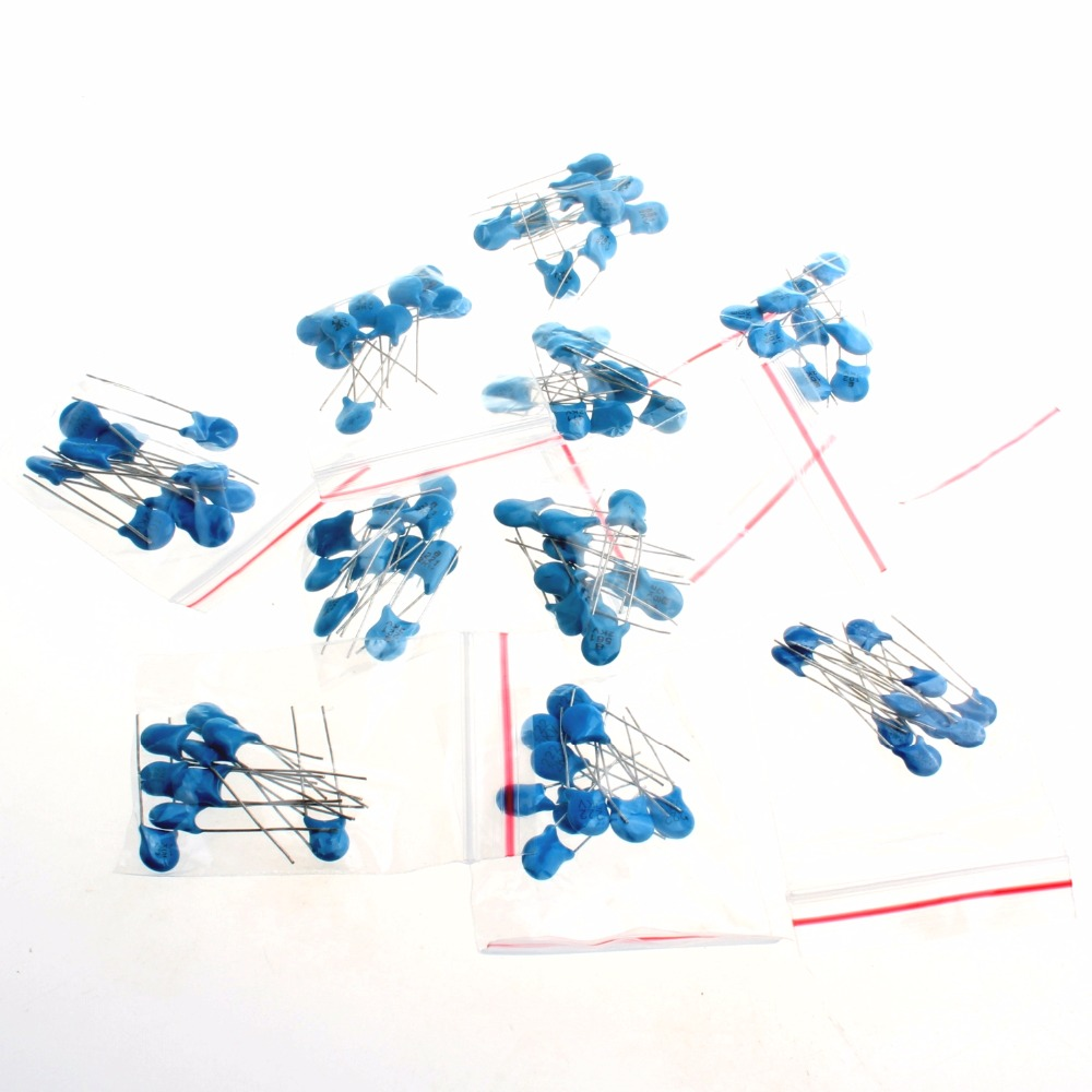 10 Type 2kv High Voltage Ceramic Capacitor Kit 1000pf