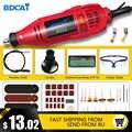BDCAT 180 Вт Гравировальный Электрический Роторный инструмент с переменной скоростью Мини дрель шлифовальный станок с электроинструментами ...