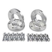 15mm 20mm Hub Centric Wheel Spacers W/ Lug Bolts For BMW 3 5 SERIES E30 E36 E46 E90 E91 E60 E61 323 325 328 330 525 535 545i