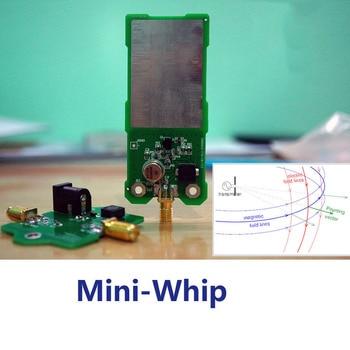 Mini-Whip Mf/Hf/Vhf Sdr Antenna Miniwhip Shortwave Active Antenna For Ore Radio, Tube (Transistor) Radio, Rtl-Sdr Receive Hack rtl sdr blog rtl sdr v3 r820t2 rtl2832u 1ppm tcxo sma rtlsdr software defined radio