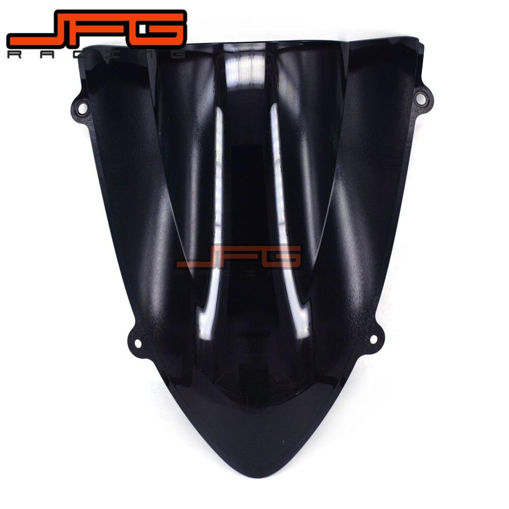 Black Windscreen Windshield for Kawasaki ZX250R EX250R Ninja 250R Ninja250R 2008-2012 2008 2009 2010 2011 2012 2008 ex ninja 250r motorcycle complete fairing bolts for kawasaki ninja 250r 2008 2009 2010 2011 2012 parts one set new