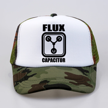 Back to the Future Flux Capacitor Printed Men Women Baseball Caps New fashion Summer Mesh Net Trucker Cap Dad Hat