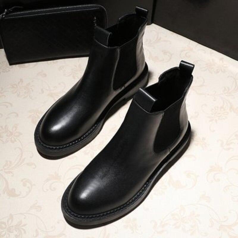Printemps Femmes Style Casual Preppy Mazefeng Étanche Qualité Cheville Haute Bottes 2018 Chaussures Vintage 5qtzXz