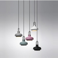 Simple Nordic Fashion Retro Aluminum Dining Room Pendant Lights Cafe Bar Lamp Decoration Lighting