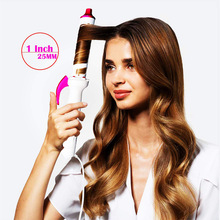Electric Professional Ceramic Hair Curler Straight Volume Dual-use Infrared Negative Ion Curling Wave Styling Tool 100-240V