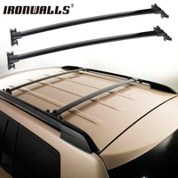Ironwalls Roof Rack Cross Bars Top Roof Box Luggage Boat Carrier 132LBS 60KG For For TOYOTA