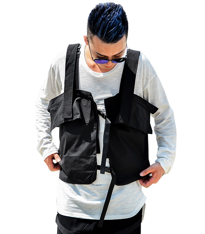 2019 New Hip-hop Kanye West Street Ins Hot Style Chest Rig Military Tactical Chest Bag Functional Package Prechest Bag Vest Bag Luggage & Bags