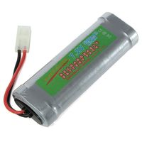 7 2V 5300mAh Ni MH NiMH Rechargeable Battery Pack Fit For RC Car Truck Toy Model