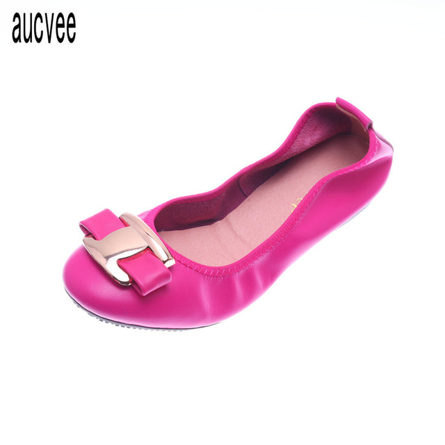 772655987d7e European American fashion Genuine leather driving shoes shallow mouth  ballerina flats shoes Golden silver sheepskin super soft