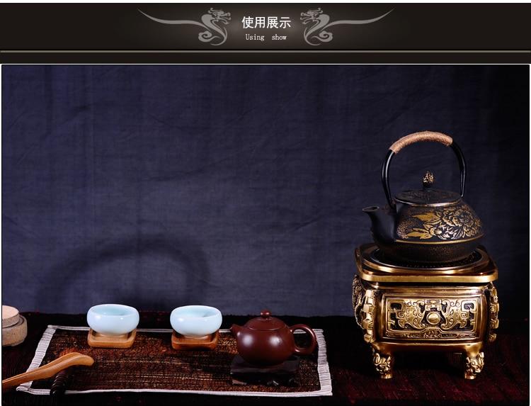 Чугунный Чайник Tetsubin фото