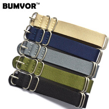New Arrival 5 Ring Watchband Military Quality Nylon ZULU NATO 18mm 20mm 22mm 24mm G10 Watch Strap Multiple color selection