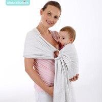 Portadores Baby Sling Portador de Bebê Envoltório Do Bebê Do Algodão Da Criança Envoltório Bolsa Infantil sling Canguru Bebê Mochilas