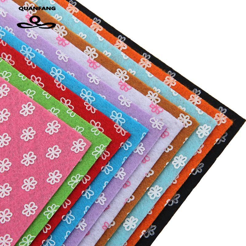 Netkaná látka 1mm Tloušťka Polyester Plstěná domácí dekorace - Umění, řemesla a šití