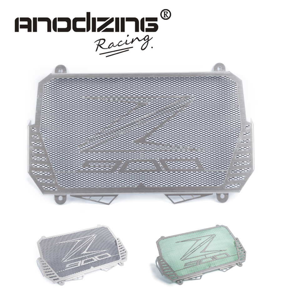 New Arrival For Kawasaki Z900 2017 Stainless Steel Motorcycle radiator guard protector cover Bezel Grille [jamont] love skullies women bandanas hip hop slouch beanie hats soft stretch beanies q3353