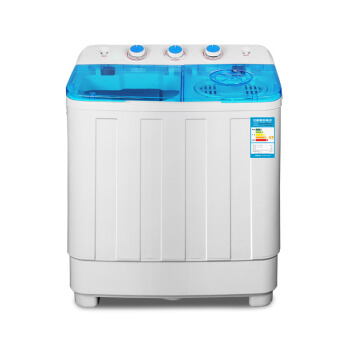 Home 3.6kg ABS Mini Washing Machine with Double Stainless Steel Tub Top Loading Semi-automatic Garment Washer UV Light Sky Blue васильев а самоучитель java с примерами и программами